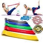Loop Resistance Bands Set of 5 Exercise Workout Fitness