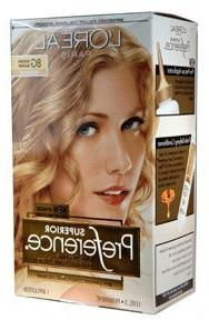 Loreal Superior Preference Hair Color, 8g Golden Blonde - 1