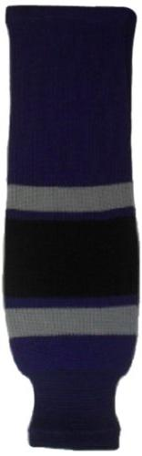 DoGree Hockey Los Angeles Kings Knit Hockey Socks, Purple/