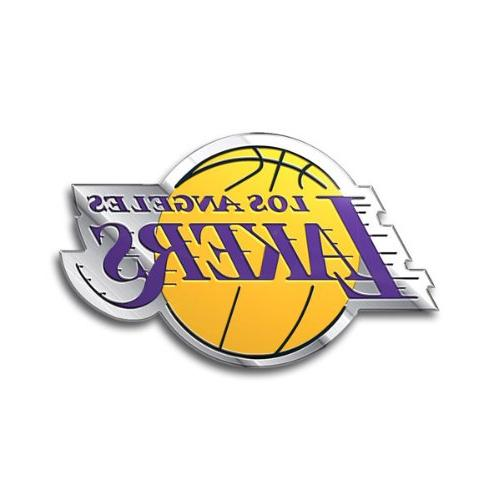 Los Angeles Lakers Color Auto Emblem - Die Cut