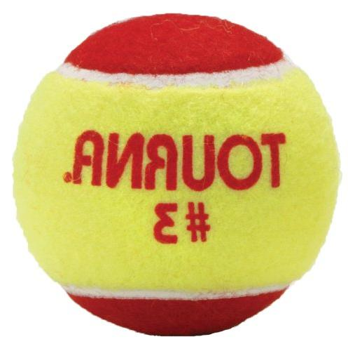 Tourna Low Compression Quickstart Tennis Balls for 60-Feet