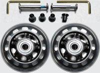 Luggage Wheel Set - 76mm Wheel Size