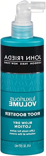 John Frieda Luxurious Volume Root Booster Blow-Dry Lotion, 6
