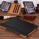 Luxury Leather Folio Stand Wallet Smart Cover Case for Apple
