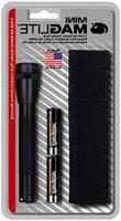 Maglite Mini Incandescent 2-Cell AA Flashlight with Holster