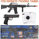 Colt M4 R.I.S Air Rifle & 1911 Colt Pistol Spring Airsoft