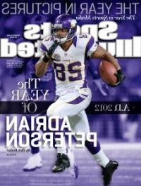 Sports Illustrated Magazine: Adrian Peterson