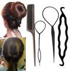Fashion Magic Hair Twist Styling Clip Stick Bun Maker Braid