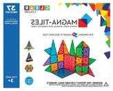 Household Essentials Magna-Tiles® Clear Colors 37 Piece