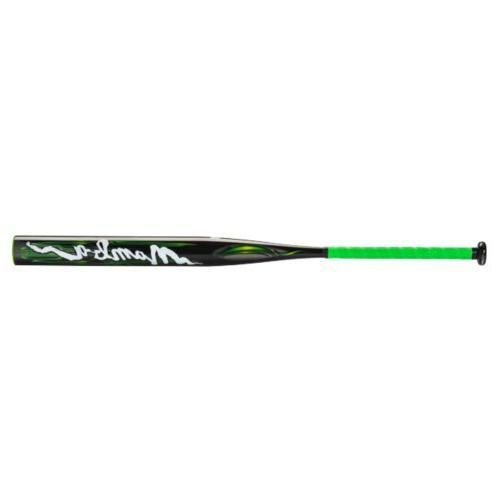 Mizuno Mamba Slow Pitch Softball Bat , Bright Lime/Black, 34