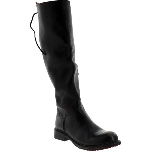 Bed Stu Women's Manchester Black Hand Wash Knee-High Leather