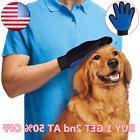 Massage True Glove Touch Deshedding Gentle Efficient Pet
