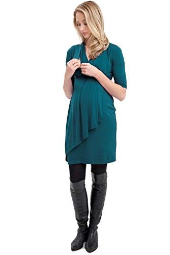 Ripe Maternity Katerina Nursing Dress - Kale - X-Large