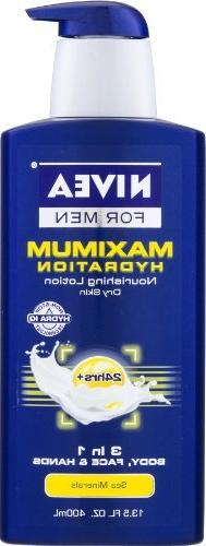 Nivea For Men Maxium Hydration Nourishing Lotion Sea