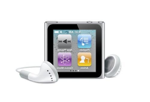 Apple MC525LL/A - 8GB iPod nano  SILVER