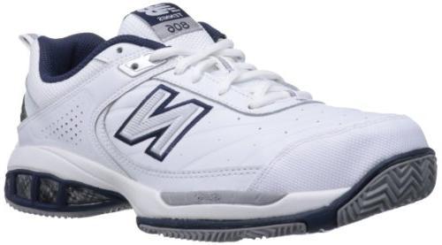 New Balance Men's MC806 Tennis Shoe,White,10 D US