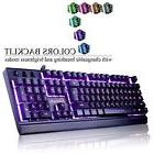 Emarth Mechanical Feel Wired Gaming Keyboard for PC with