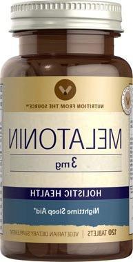 Vitamin World Melatonin Sleep Aid, 3mg, 120 Tablets