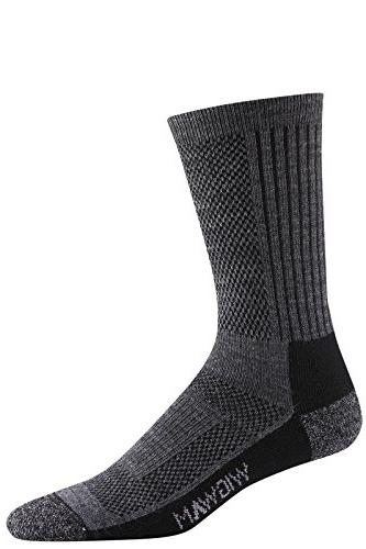 Wigwam Men's Merino Trailblaze Pro Socks, Gray, Medium