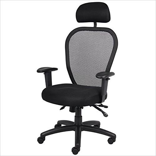 Mesh Chair with Screen Back