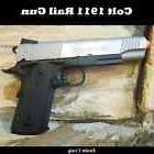 Colt Full Metal 1911 Airsoft Rail Hand Gun Pistol  CO2