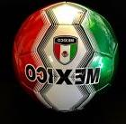 MEXICO Soccer Ball Size 5  G-SPORT, INFLATED, READY TO USE