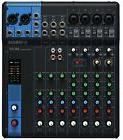 Yamaha MG10 10-Channel Live Sound PA Mixer - New