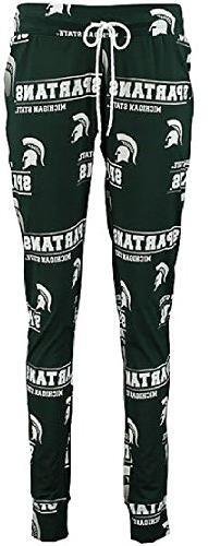 Ladies Michigan State Spartans NCAA Green Fusion Pajama