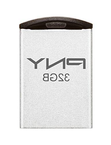 PNY PNY Micro Metal Attache 16GB USB 2.0 Flash Drive