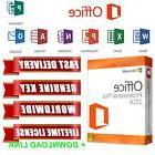Microsoft Office Pro Plus 2016 License Key Word Excel OneNote Publisher Access