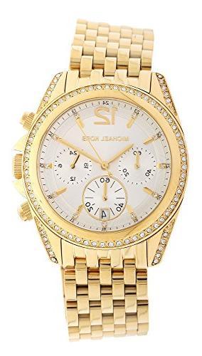Michael Kors Mid-Size Golden Pressley Chronograph Glitz