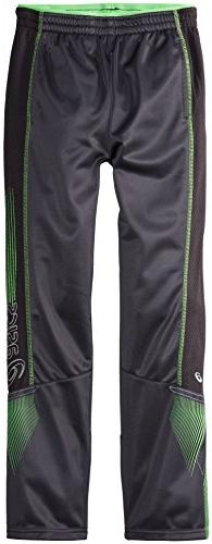 ASICS Big Boys' Midfield Pant,Steel,Small