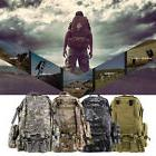 New 55L Outdoor Military Tactical Backpack Rucksack Camping