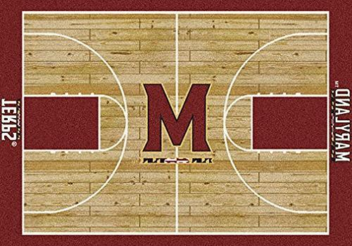 "Milliken College Basketball Court Maryland 3'10"" x 5'4"""