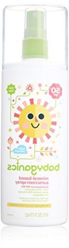 Babyganics Mineral Based Sunscreen Spray - SPF 50+ -