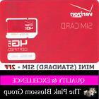 VERIZON MINI  2FF SIM Card • CDMA 4GLTE • NEW OEM