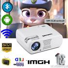 1080P HD LED Mini WiFi Projector 5000 Lumen Multimedia Home