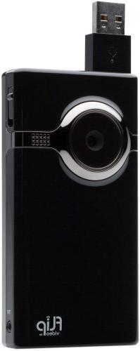 Flip MinoHD Video Camera - Black, 4 GB, 1 Hour