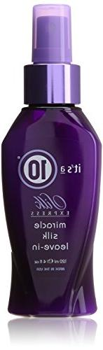 It's a 10 Miracle Silk Express Leave-In Conditioner, 4 Ounce
