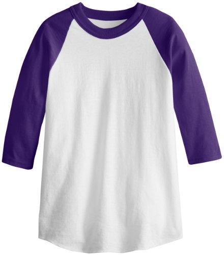 MJ  Women's 3/4 Sleeve Baseball Jersey, Gun Metal, Small