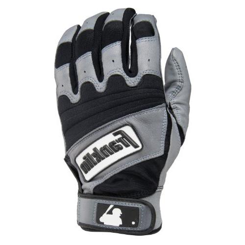 Franklin Sports The Natural II Adult Batting Gloves, Pearl/