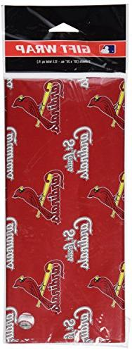 MLB St. Louis Cardinals Wrapping Paper