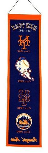 MLB New York Mets Heritage Banner
