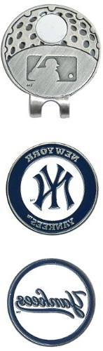 MLB New York Yankees 2 MKR Cap Clip, Navy