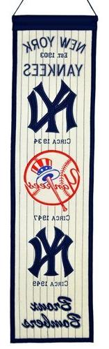 MLB New York Yankees Heritage Banner