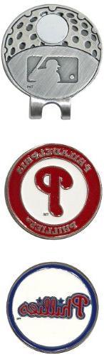 MLB Philadelphia Phillies 2 MKR Cap Clip, Blue