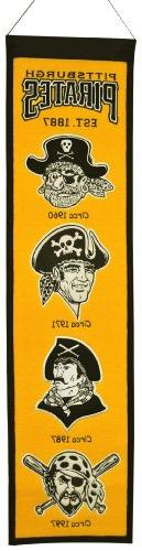 MLB Pittsburgh Pirates Heritage Banner