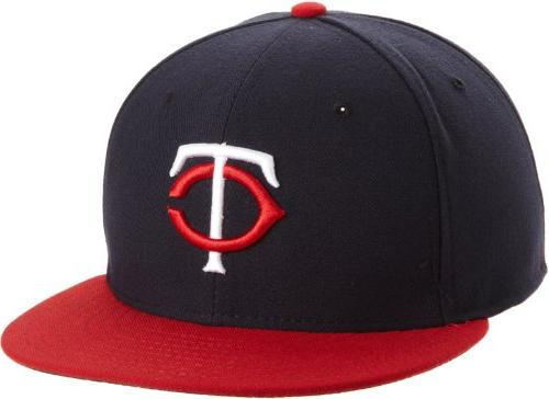 MLB Cleveland Indians Road AC On Field 59Fifty Fitted Cap-