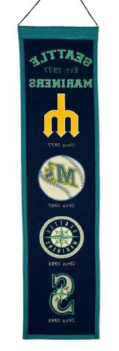 MLB Seattle Mariners Heritage Banner
