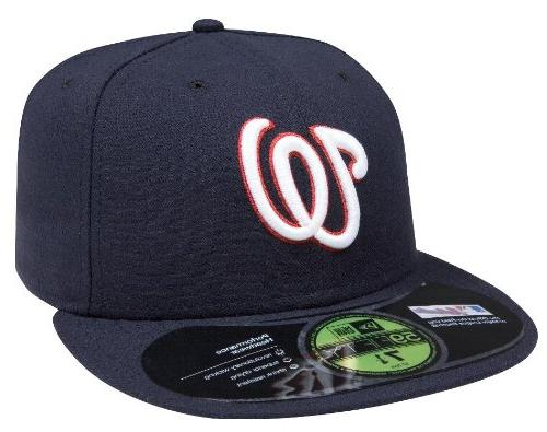 MLB Washington Nationals AC on Field Game 59Fifty Cap, 7 1/4